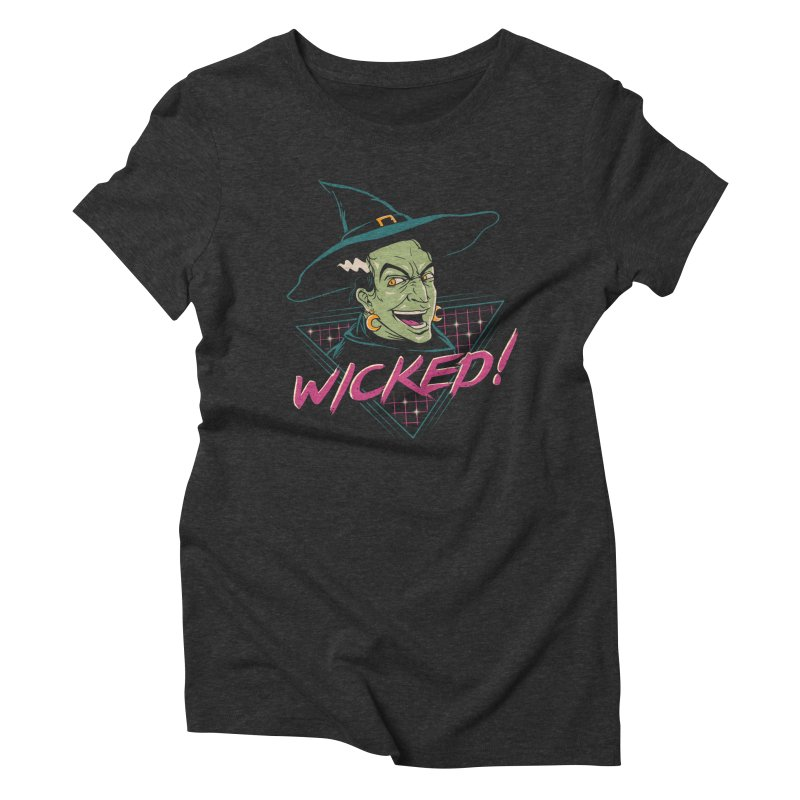 Wicked Witch Women's Triblend T-Shirt by vincenttrinidad's Artist Shop