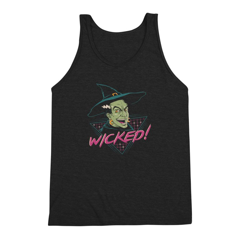 Wicked Witch Men's Triblend Tank by vincenttrinidad's Artist Shop