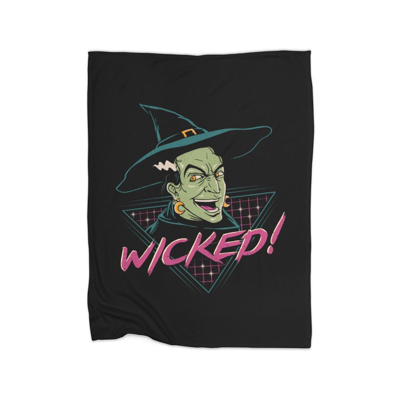 Wicked Witch Home Blanket by vincenttrinidad's Artist Shop