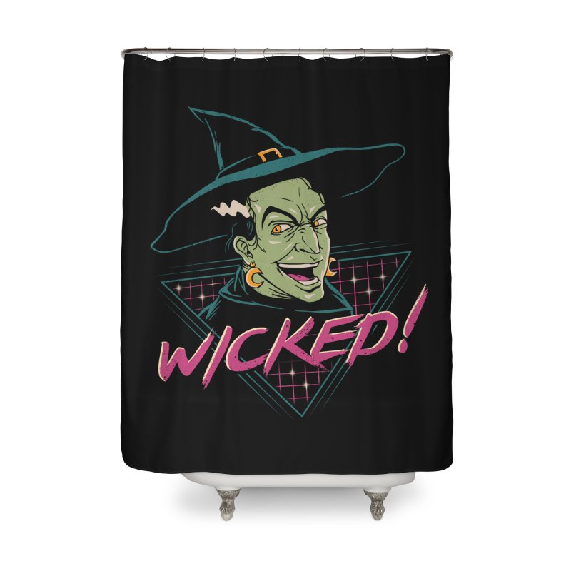 Wicked Witch Home Shower Curtain by vincenttrinidad's Artist Shop