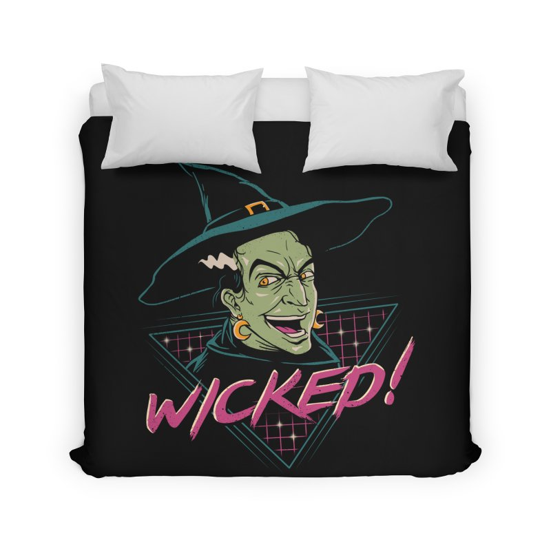 Wicked Witch Home Duvet by vincenttrinidad's Artist Shop