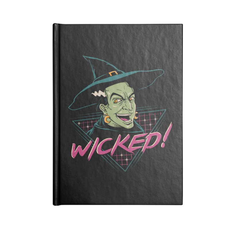 Wicked Witch Accessories Notebook by vincenttrinidad's Artist Shop