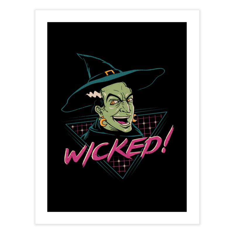 Wicked Witch Home Fine Art Print by vincenttrinidad's Artist Shop