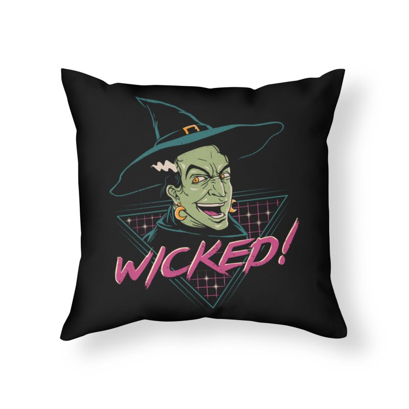 Wicked Witch Home Throw Pillow by vincenttrinidad's Artist Shop