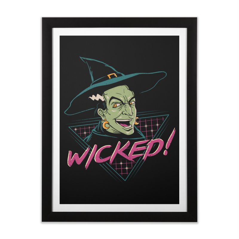 Wicked Witch Home Framed Fine Art Print by vincenttrinidad's Artist Shop
