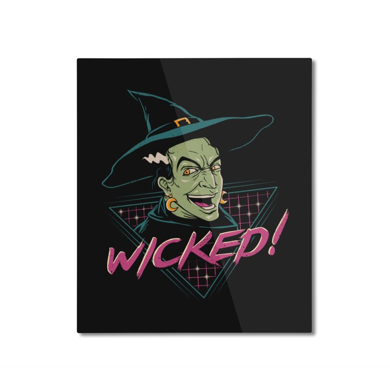 Wicked Witch Home Mounted Aluminum Print by vincenttrinidad's Artist Shop