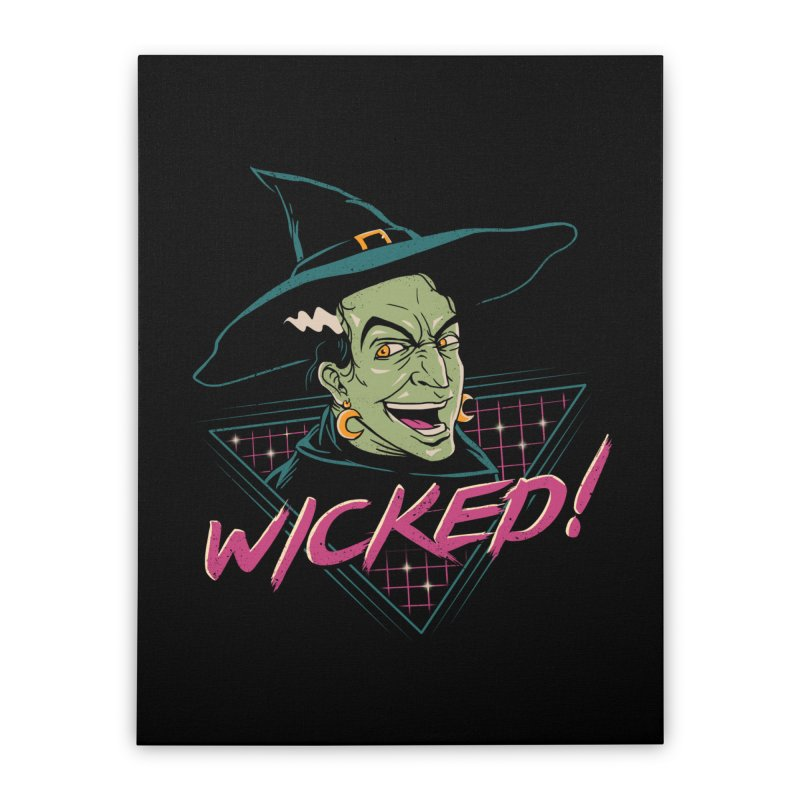 Wicked Witch Home Stretched Canvas by vincenttrinidad's Artist Shop