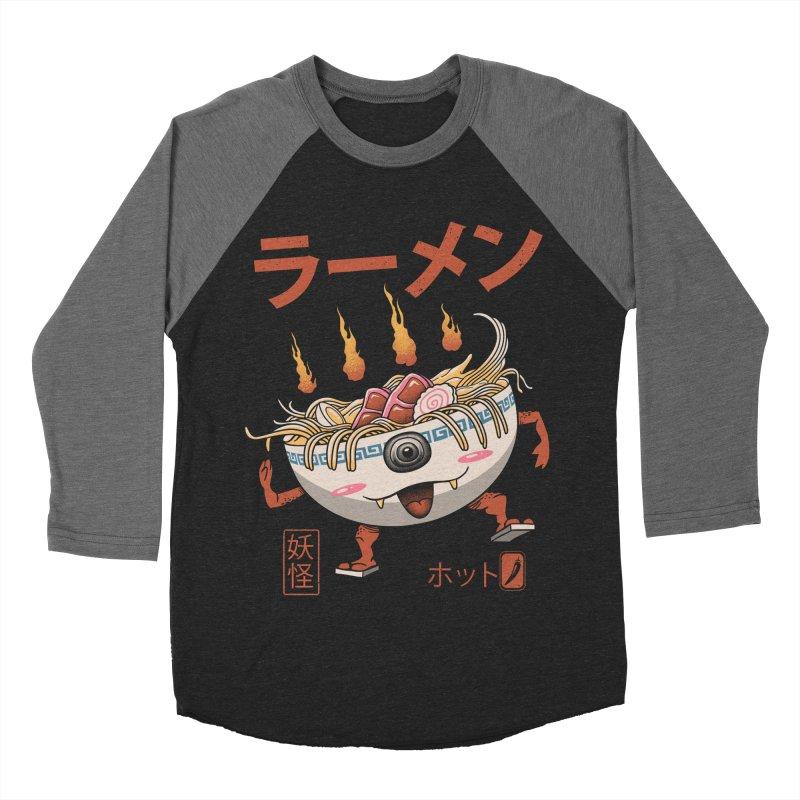 Yokai Ramen Women's Baseball Triblend Longsleeve T-Shirt by vincenttrinidad's Artist Shop