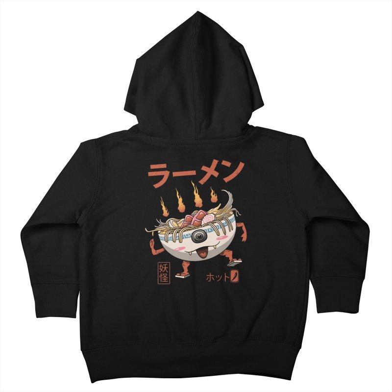 Yokai Ramen Kids Toddler Zip-Up Hoody by vincenttrinidad's Artist Shop