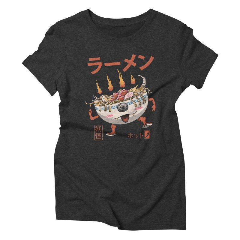 Yokai Ramen Women's Triblend T-Shirt by vincenttrinidad's Artist Shop
