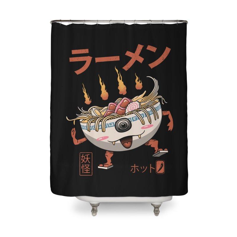 Yokai Ramen Home Shower Curtain by vincenttrinidad's Artist Shop