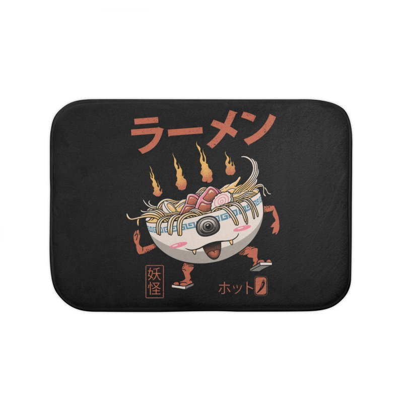Yokai Ramen Home Bath Mat by vincenttrinidad's Artist Shop