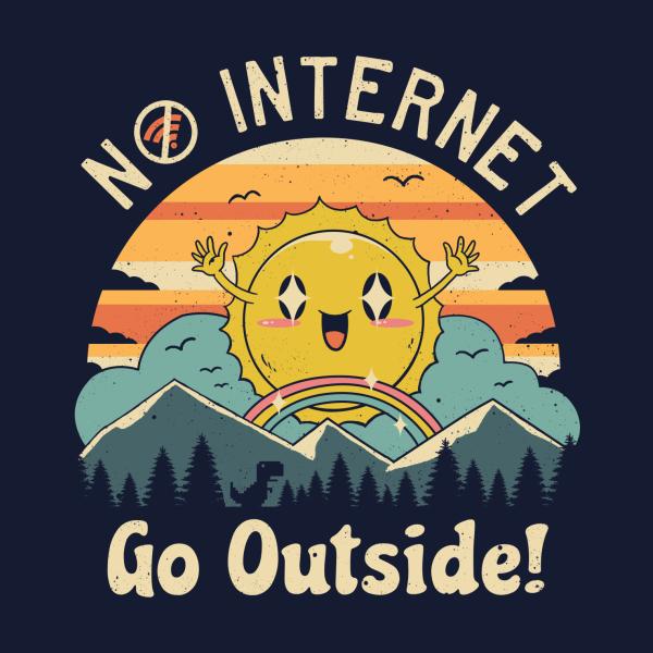 Design for No Internet Vibes!