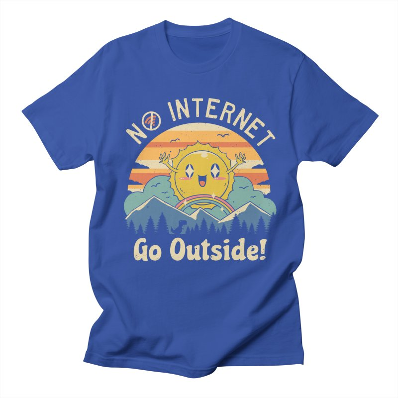 No Internet Vibes! Women's Regular Unisex T-Shirt by vincenttrinidad's Artist Shop