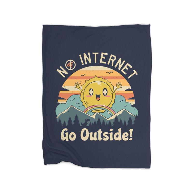 No Internet Vibes! Home Blanket by vincenttrinidad's Artist Shop