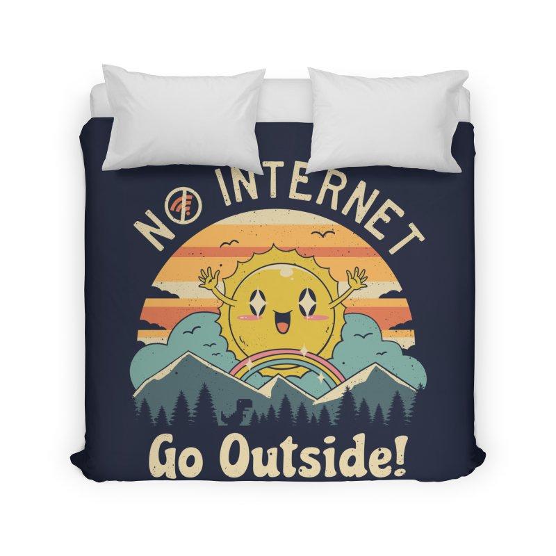 No Internet Vibes! Home Duvet by vincenttrinidad's Artist Shop