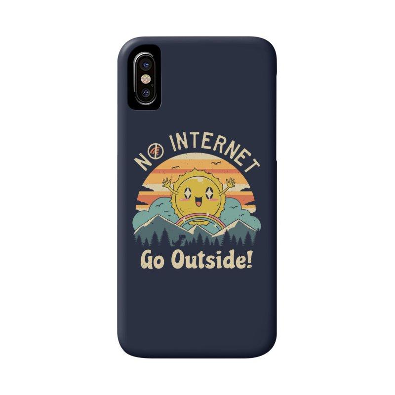 No Internet Vibes! Accessories Phone Case by vincenttrinidad's Artist Shop