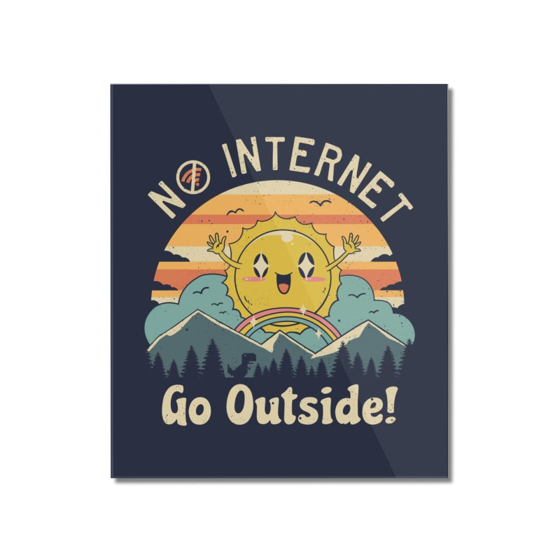 No Internet Vibes! Home Mounted Acrylic Print by vincenttrinidad's Artist Shop