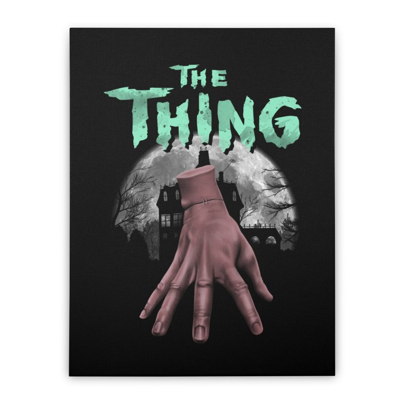 Beware of the Thing Home Stretched Canvas by vincenttrinidad's Artist Shop