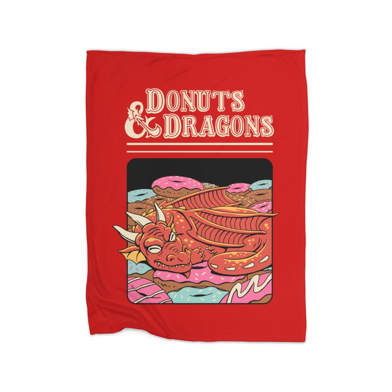 Donuts and Dragons Home Blanket by vincenttrinidad's Artist Shop