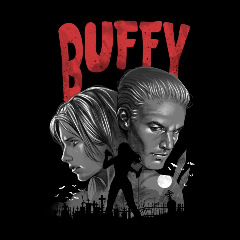 Buffy Women's Fitted T-Shirt by vincenttrinidad's Artist Shop