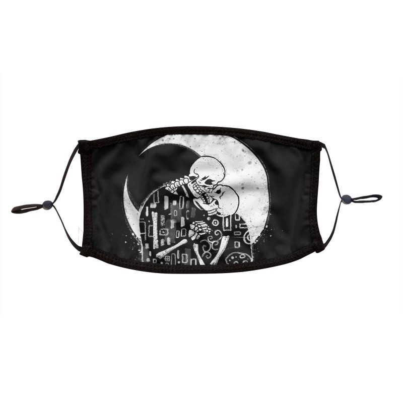 The Kiss of Death Accessories Face Mask by Vincent Trinidad Art