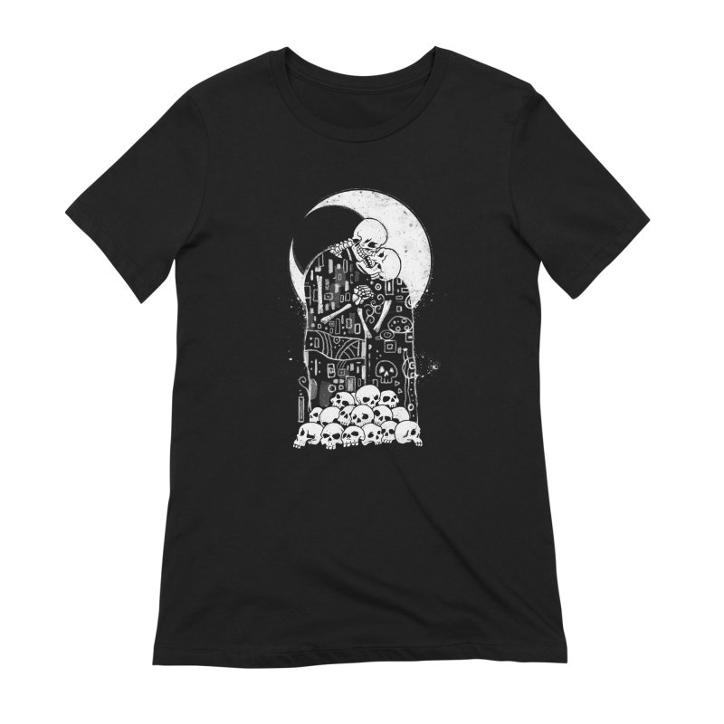 The Kiss of Death Women's Extra Soft T-Shirt by Vincent Trinidad
