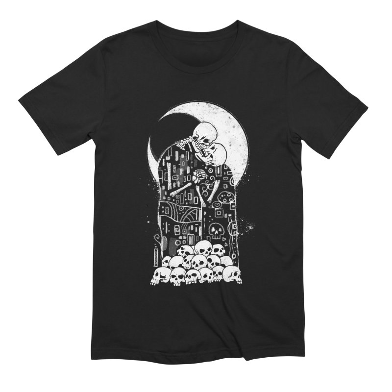 The Kiss of Death Men's Extra Soft T-Shirt by Vincent Trinidad