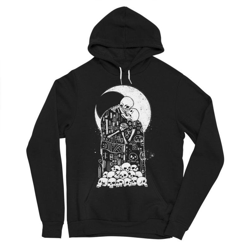 The Kiss of Death Women's Sponge Fleece Pullover Hoody by Vincent Trinidad
