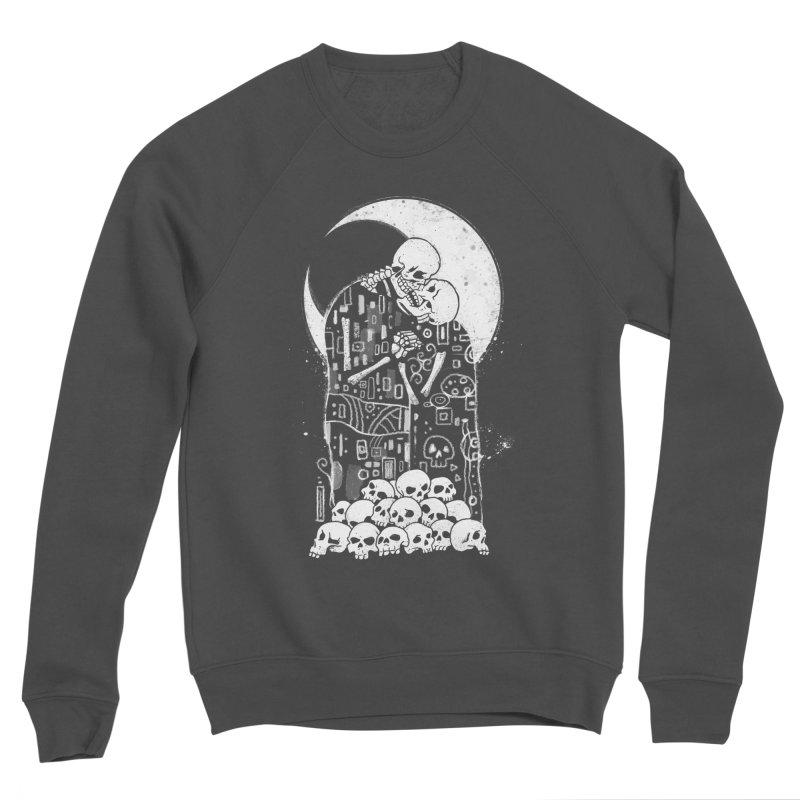 The Kiss of Death Men's Sponge Fleece Sweatshirt by Vincent Trinidad
