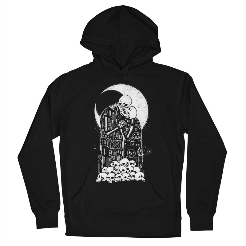 The Kiss of Death Women's French Terry Pullover Hoody by Vincent Trinidad