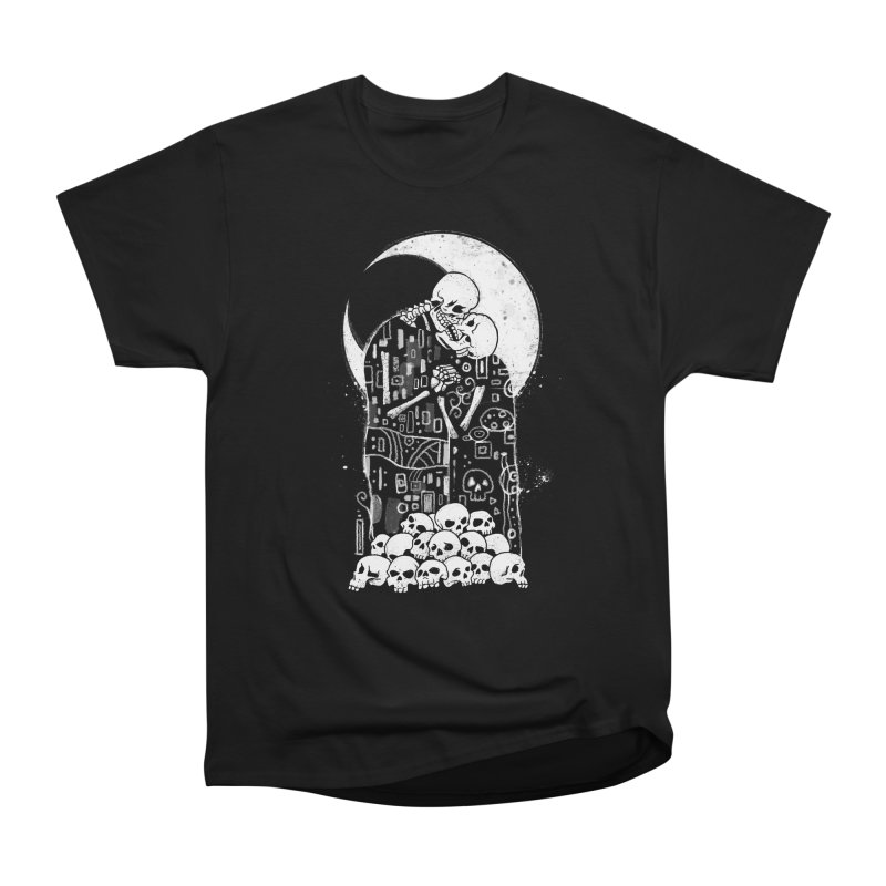The Kiss of Death Men's Heavyweight T-Shirt by Vincent Trinidad