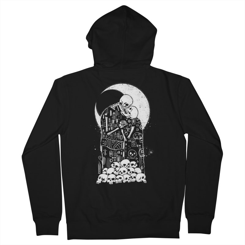 The Kiss of Death Men's French Terry Zip-Up Hoody by Vincent Trinidad
