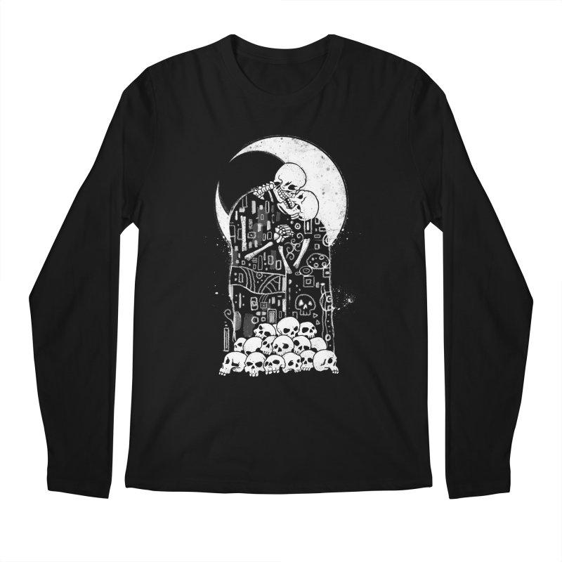 The Kiss of Death Men's Regular Longsleeve T-Shirt by Vincent Trinidad