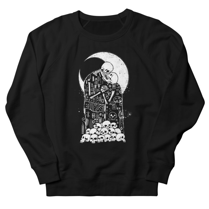 The Kiss of Death Men's French Terry Sweatshirt by Vincent Trinidad