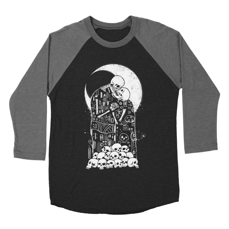 The Kiss of Death Women's Baseball Triblend Longsleeve T-Shirt by Vincent Trinidad