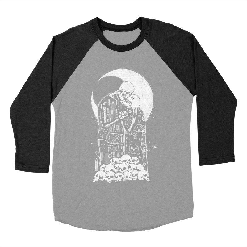 The Kiss of Death Women's Baseball Triblend Longsleeve T-Shirt by vincenttrinidad's Artist Shop