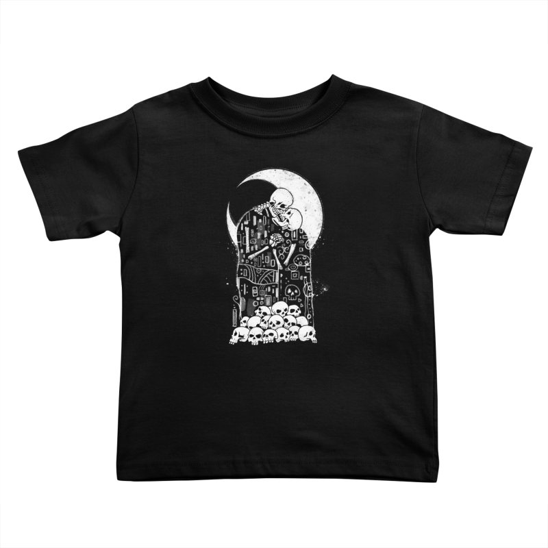 The Kiss of Death Kids Toddler T-Shirt by Vincent Trinidad