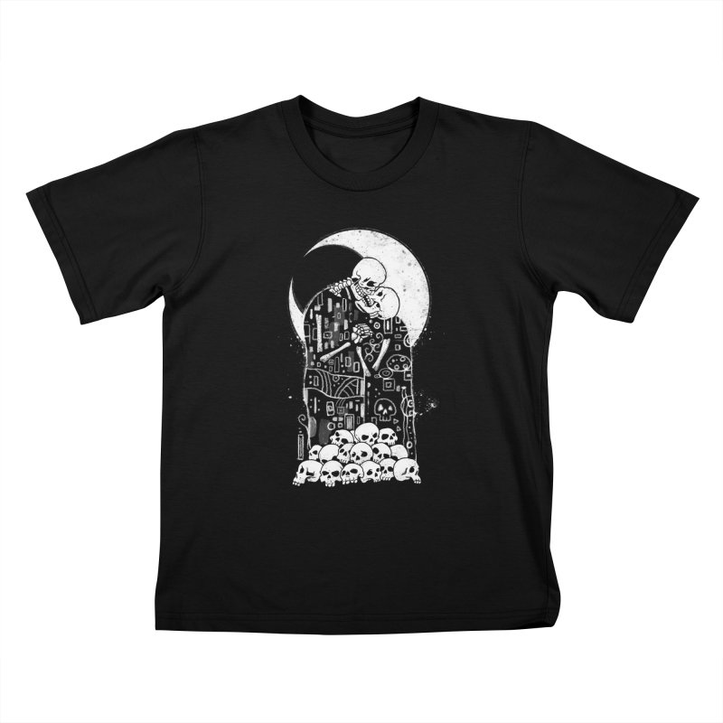 The Kiss of Death Kids T-Shirt by Vincent Trinidad