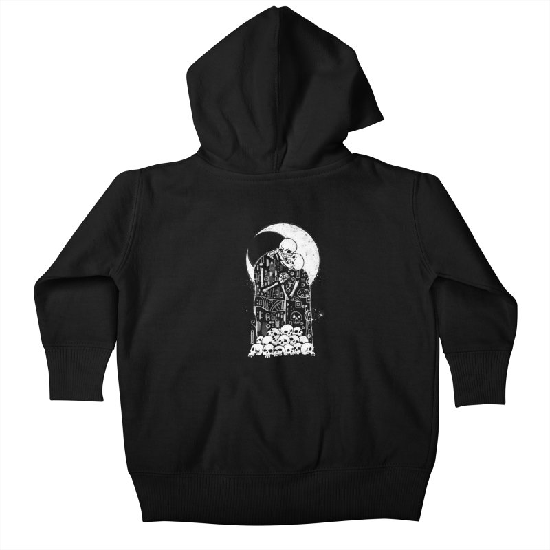 The Kiss of Death Kids Baby Zip-Up Hoody by vincenttrinidad's Artist Shop
