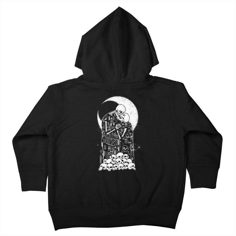 The Kiss of Death Kids Toddler Zip-Up Hoody by Vincent Trinidad