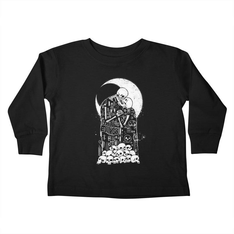 The Kiss of Death Kids Toddler Longsleeve T-Shirt by vincenttrinidad's Artist Shop