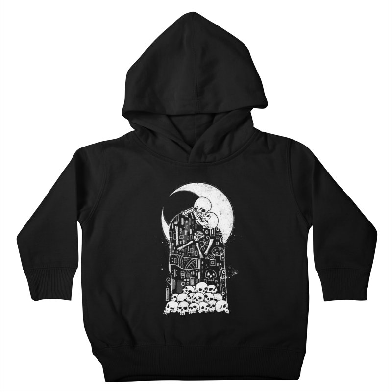 The Kiss of Death Kids Toddler Pullover Hoody by Vincent Trinidad