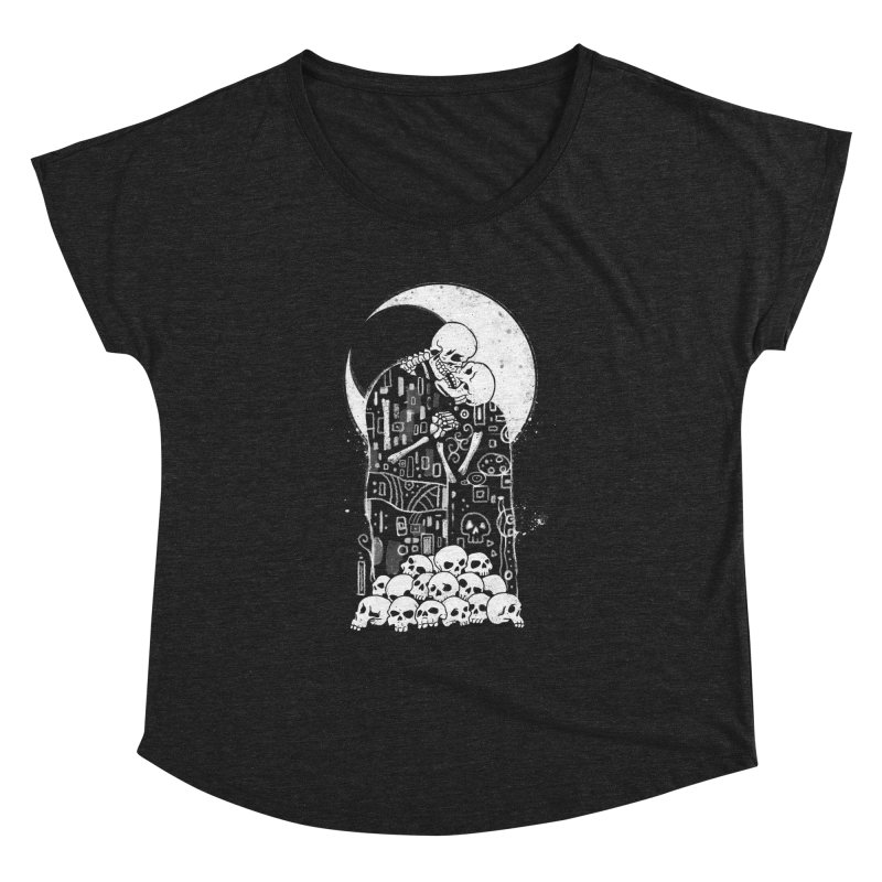 The Kiss of Death Women's Dolman Scoop Neck by Vincent Trinidad