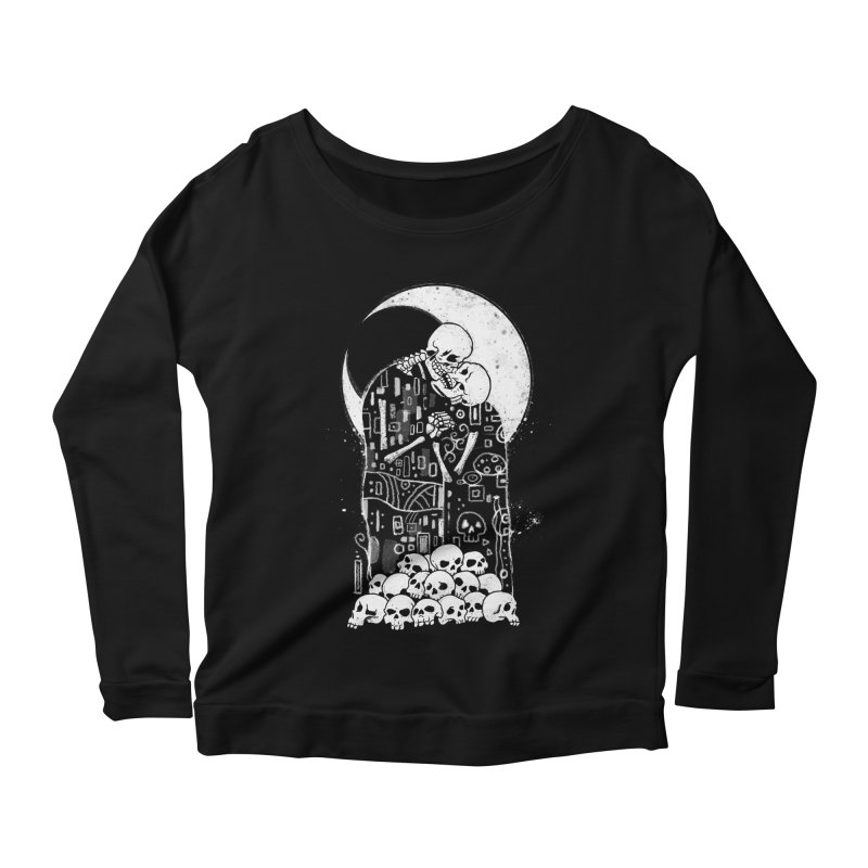 The Kiss of Death Women's Scoop Neck Longsleeve T-Shirt by Vincent Trinidad