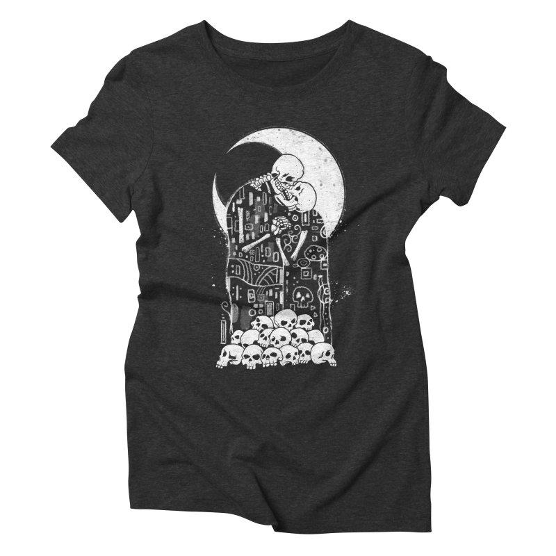 The Kiss of Death Women's Triblend T-Shirt by vincenttrinidad's Artist Shop