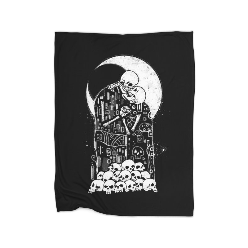 The Kiss of Death Home Blanket by vincenttrinidad's Artist Shop