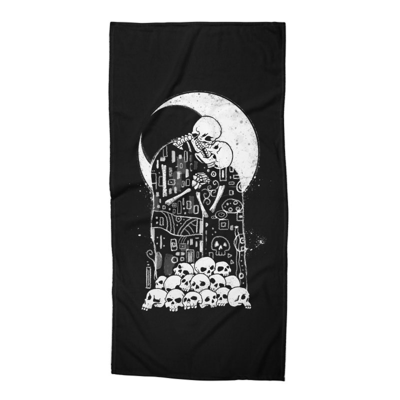 The Kiss of Death Accessories Beach Towel by Vincent Trinidad