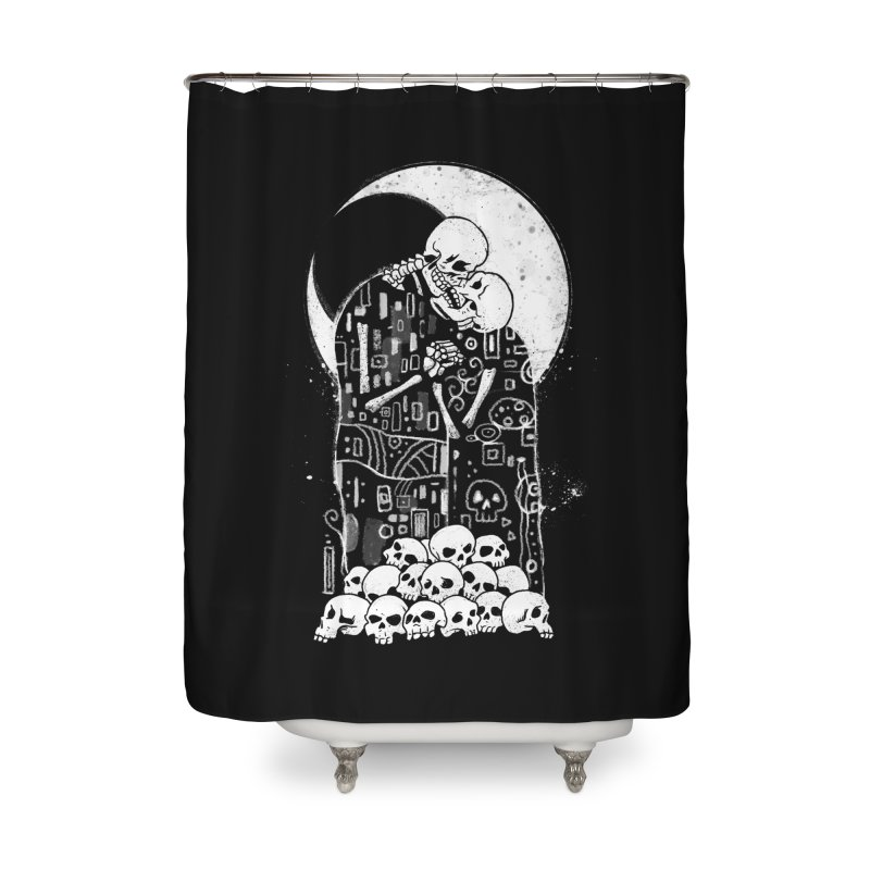 The Kiss of Death Home Shower Curtain by vincenttrinidad's Artist Shop