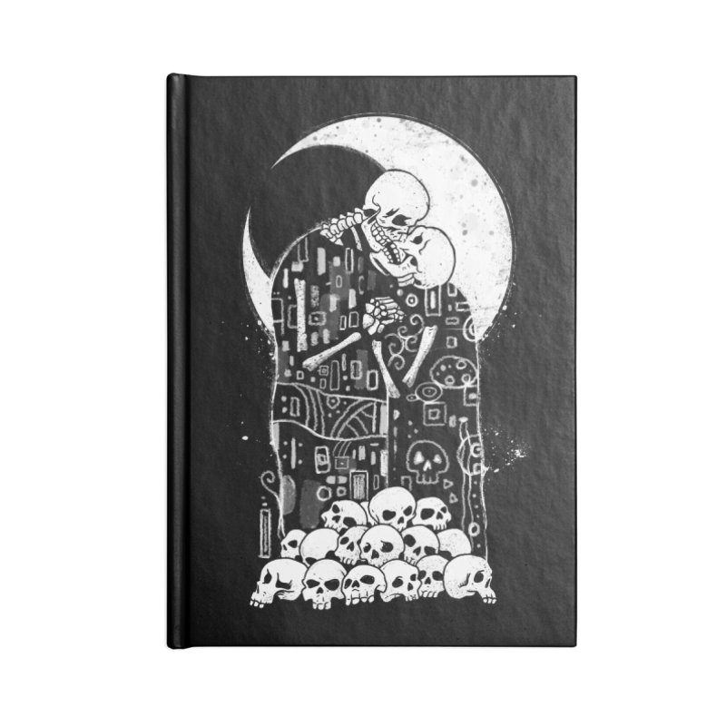The Kiss of Death Accessories Notebook by vincenttrinidad's Artist Shop